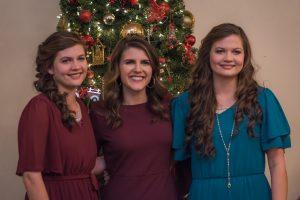 Natalie, Abigail and Rianna