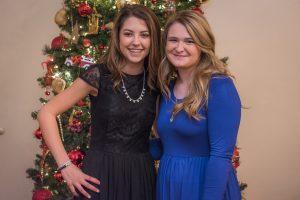 Kaleigh Hoff and Sarah Willis