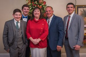 Jim Mitchum Family