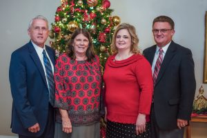 Bro. Mike and Mrs. Debbie with Phillip and Melissa Willis