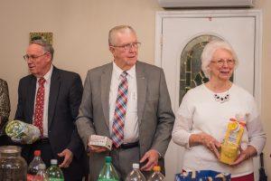Gift exchange - Bro. Raynes and Mrs. Raynes
