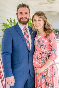 Mark Lane and Holly Mitchum's Baby Shower