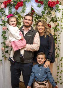 Nathan, Rachel and children