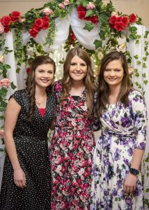 Natalie, Rebekah, and Abigail